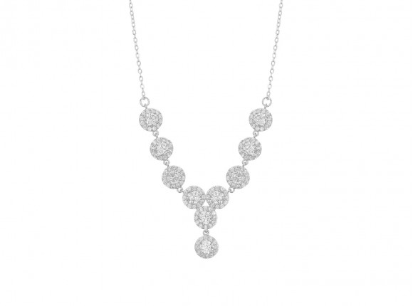 Ronde Sparkle Ketting