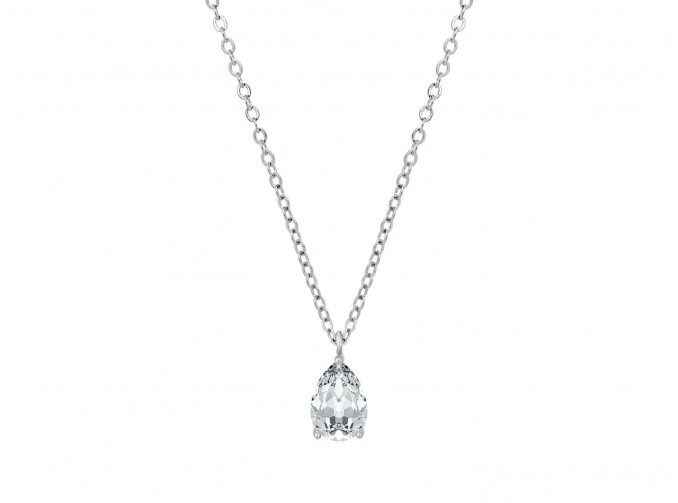 Daily Luxury Necklace V Silver