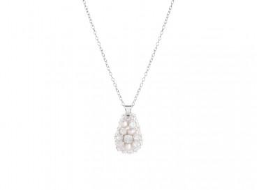 Royal Felt Necklace Opal