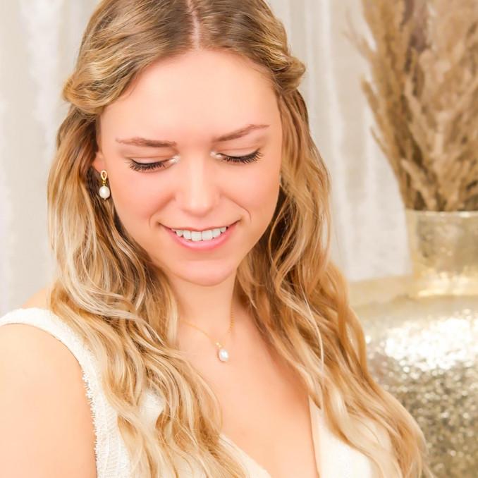 Mooie ketting voor de bruid om te dragen