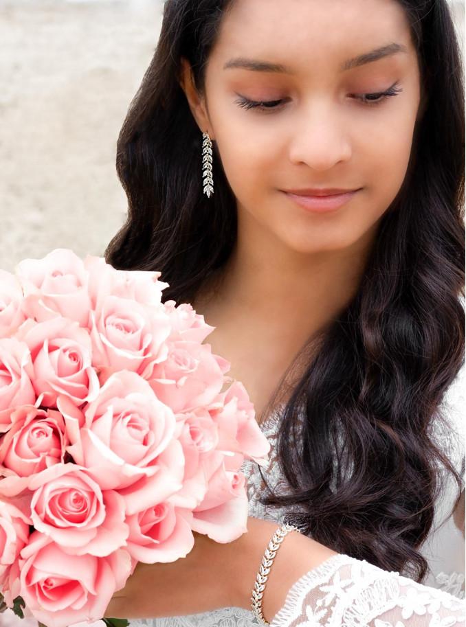 Bruidssieraden in een vergulde kleur om te kopen