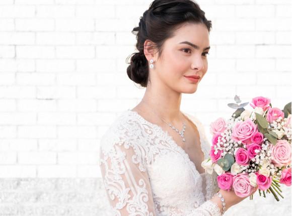 Klassieke Sieradenset voor de Bruid