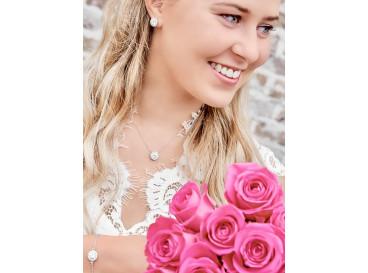 Subtiele Bruids Sieradenset Zilver