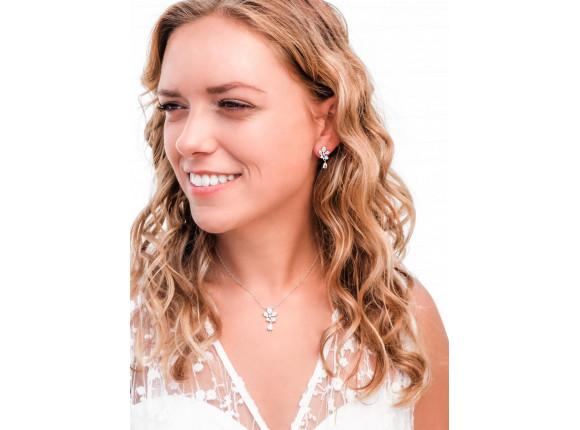 Bruids oorbellen Subtiele sparkle