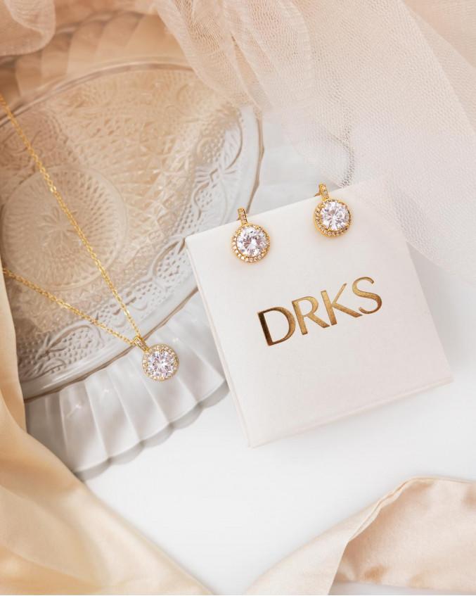 Gouden daily luxury sieraden set