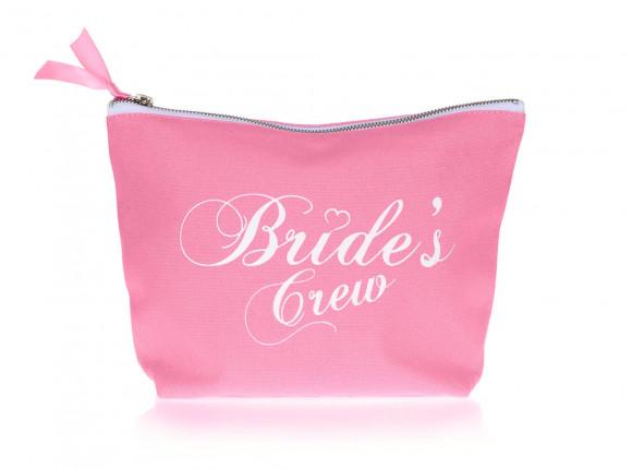 DRKS 'Bride's Crew' Toilettas roze