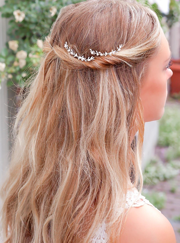 Haaraccessoire bohemian in het haar voor een trend look