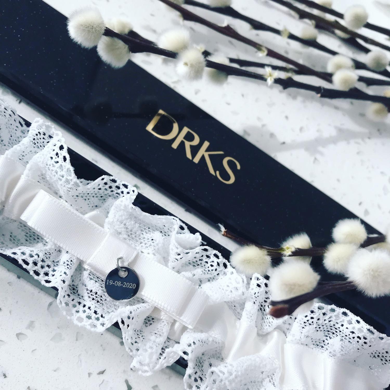 Kousenband Personaliseren voor de Bruid