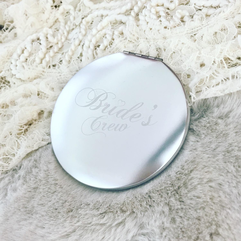 DRKS brides crew zilver spiegeltje