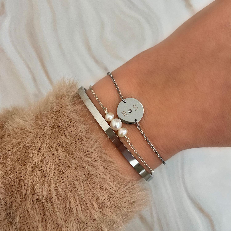 Mooie zilveren armbanden voor een trendy look