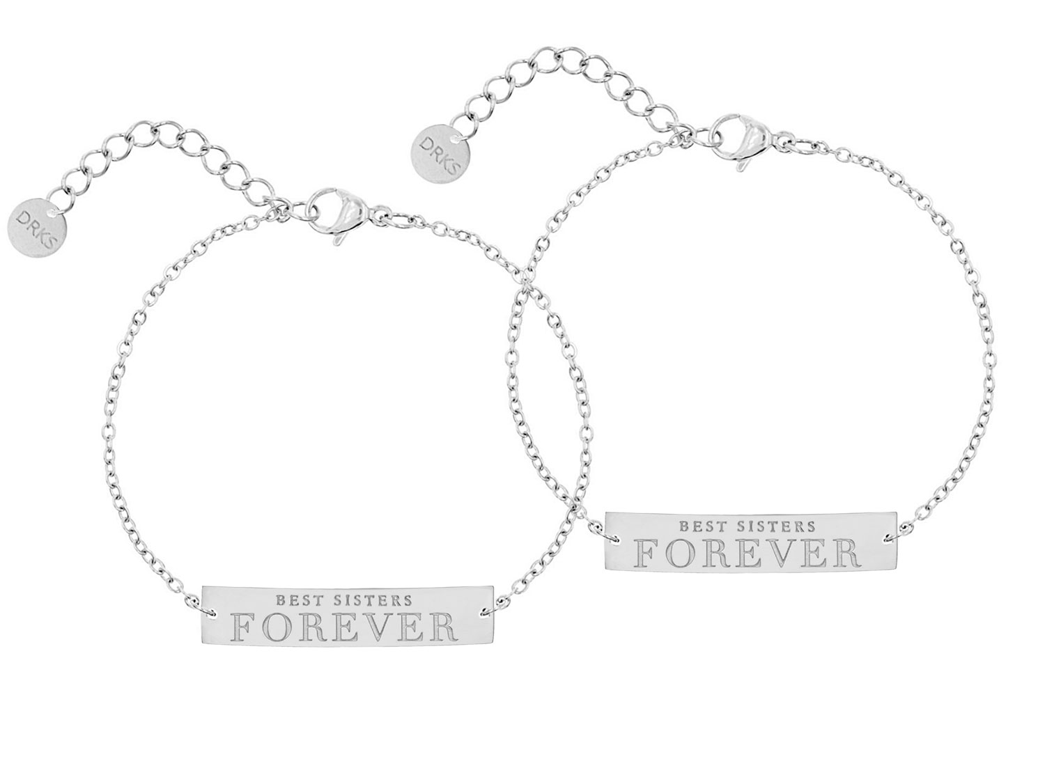 Best sisters forever armband