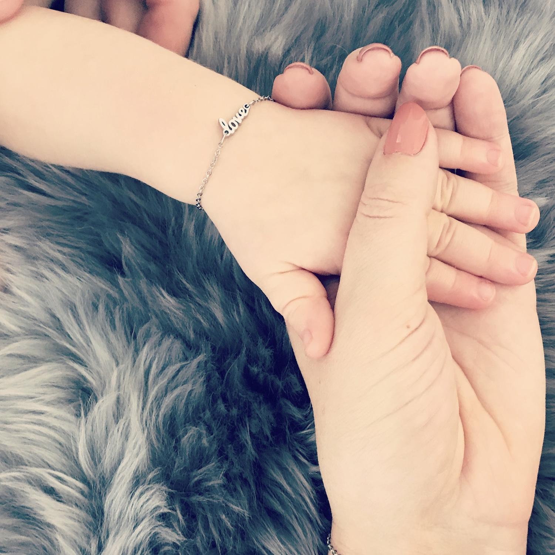 Moeder & Dochter Love Armband
