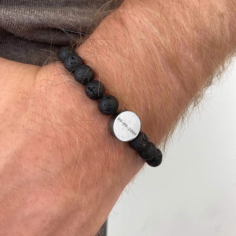 Kralen armband voor de mannen voor een complete look
