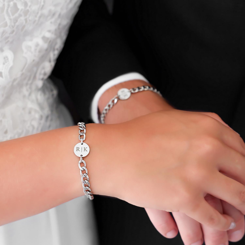 couple armband om te dragen voor het bruidspaar