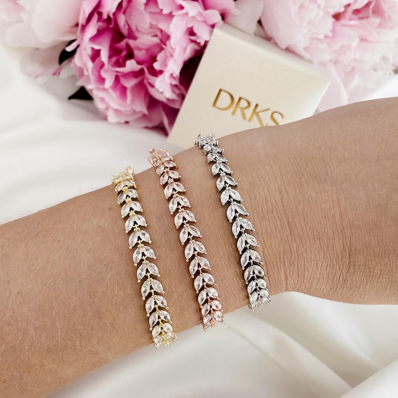 Mooie set met armbanden voor de bruid