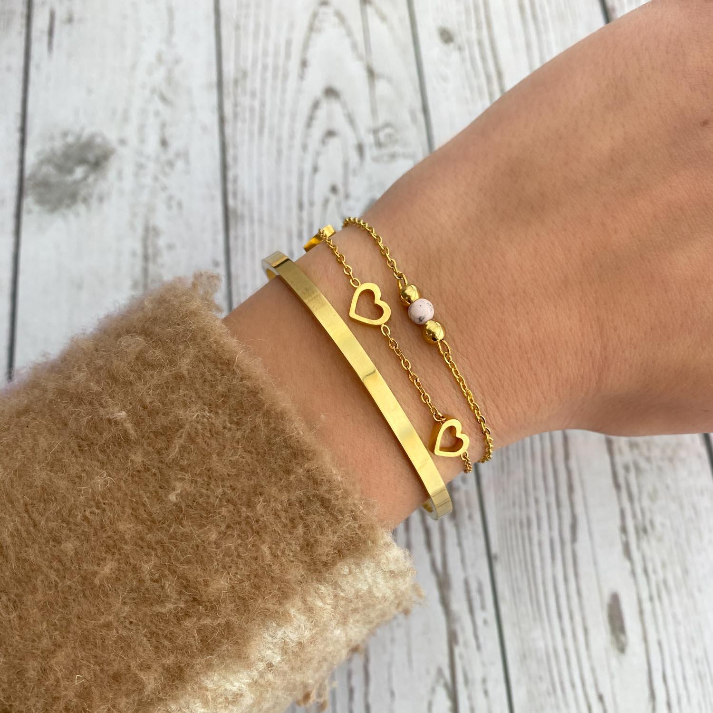 Trendy armbanden om de pols voor een leuke look