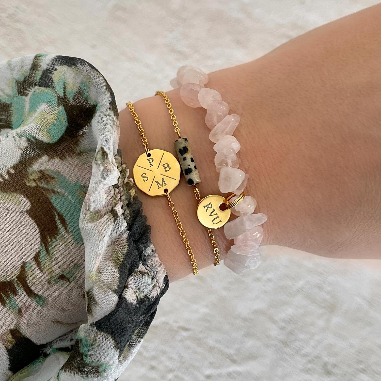 Mooie armband om de pols voor een trendy look