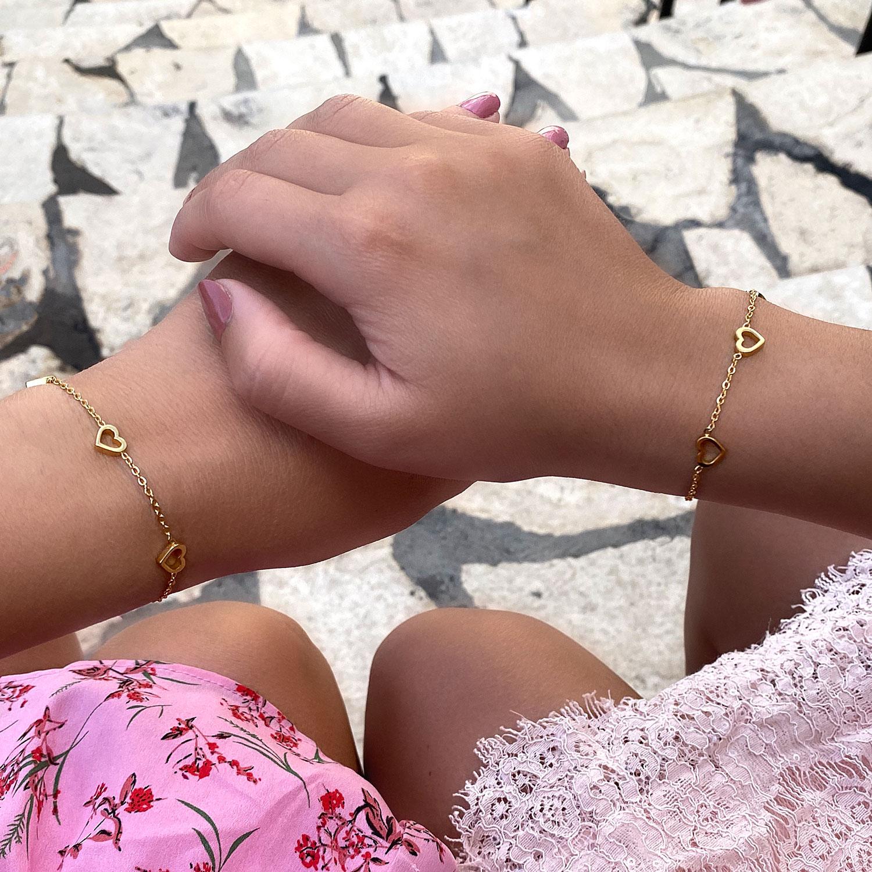 Leuke armbandjes om de delen met moeder en dochter