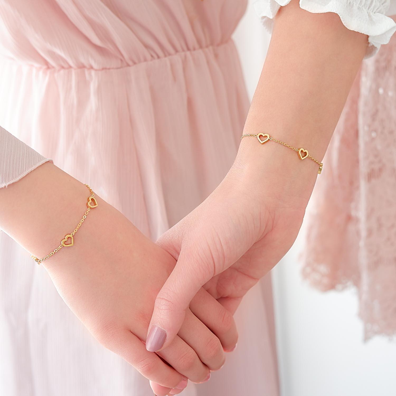 Mooie armband voor moeder en dochter om te dragen