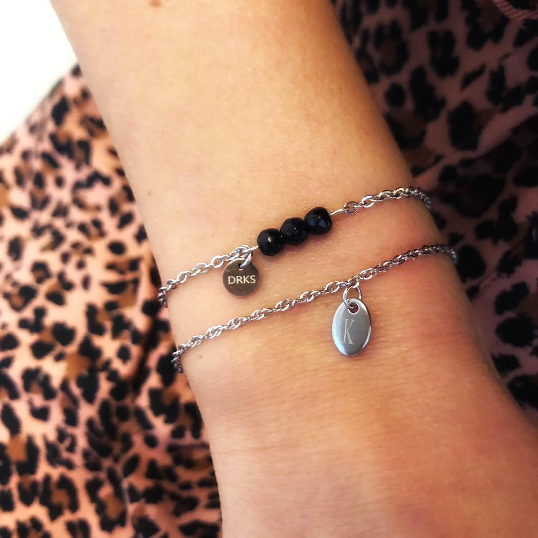 graveerbare armbanden dames edelstaal