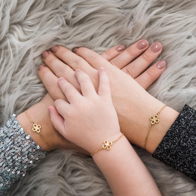 Moeder dochter armband om te delen tussen jou en jouw dochter