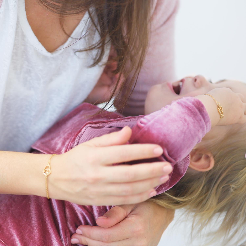 moeder dochter sieraden voor om de pols voor een complete look