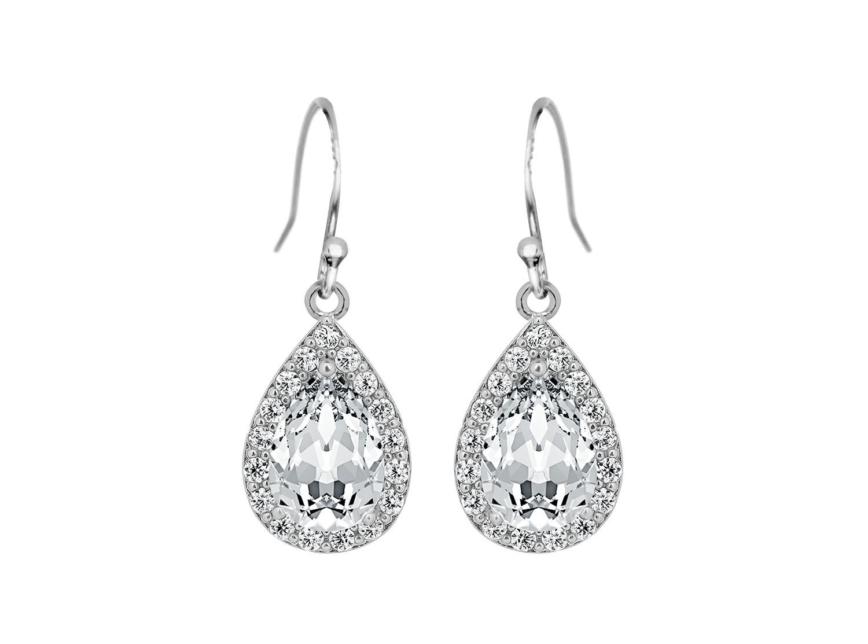 Daily Luxury Earrings XII Silver