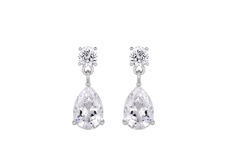 Daily Luxury Earrings XIII Silver