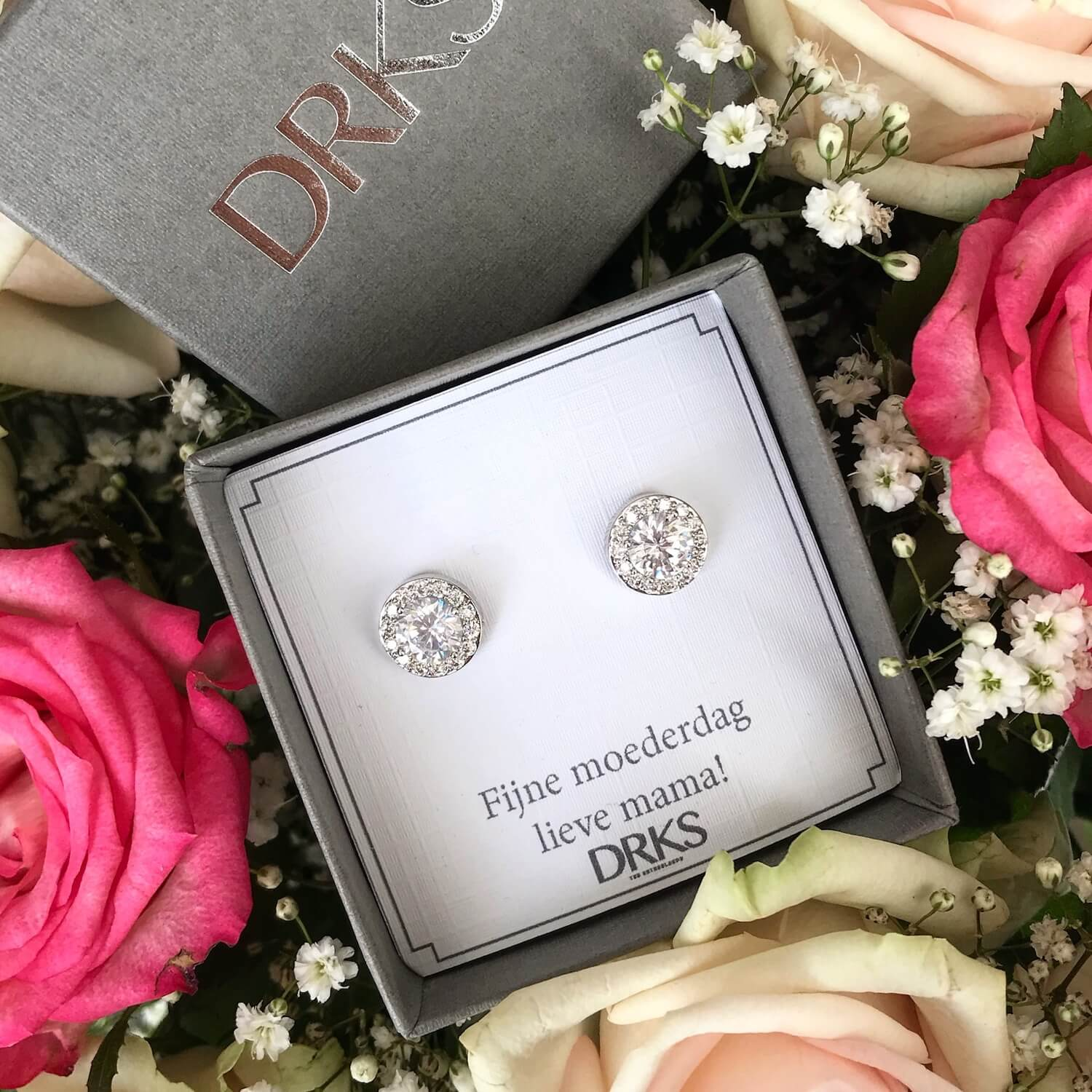 Daily Luxury Earrings Silver