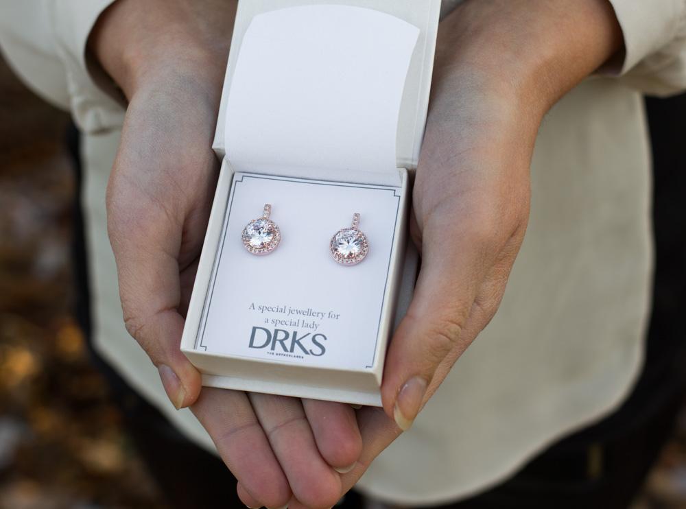 Daily Luxury Oorbellen II Rose Goud Kleurig