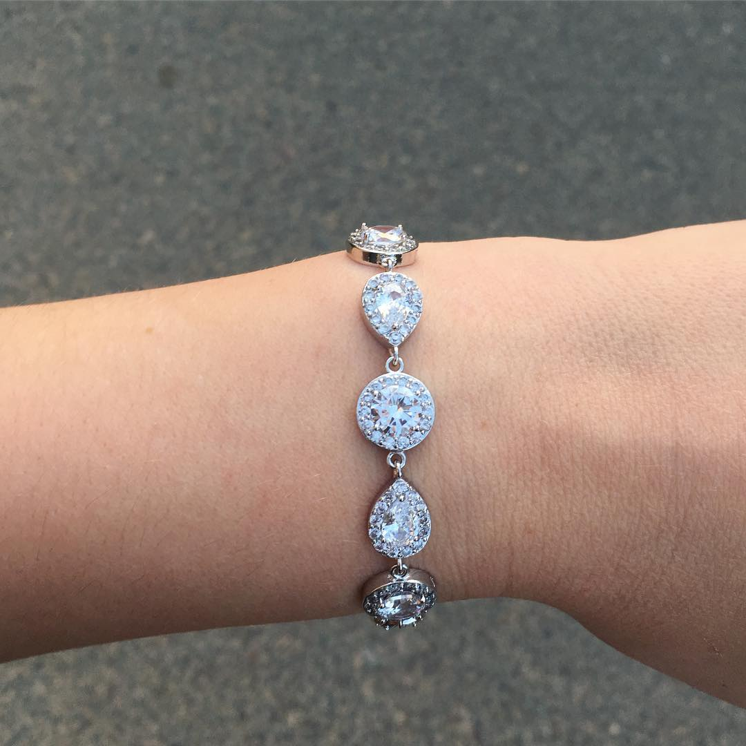 Daily Luxury Armband V Zilver
