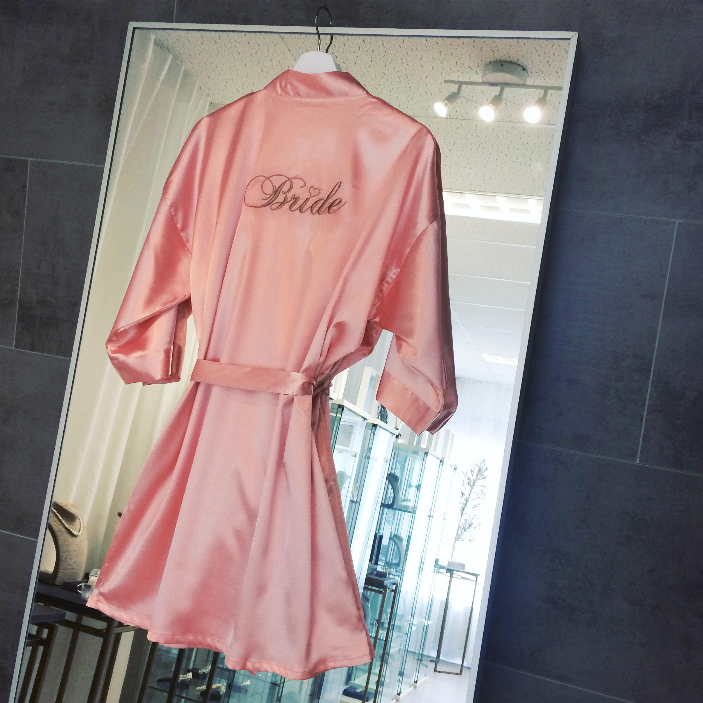 """Kimono """"Bride"""" Roze"""