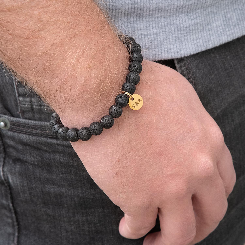 Mannen armband met kralen voor hem