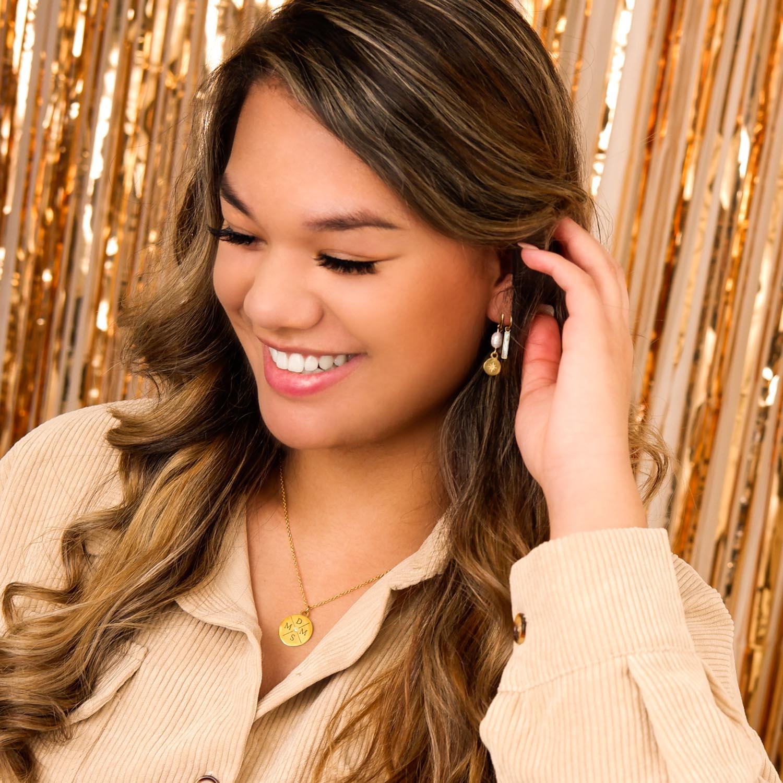 Mooie parel oorbellen voor een trendy look