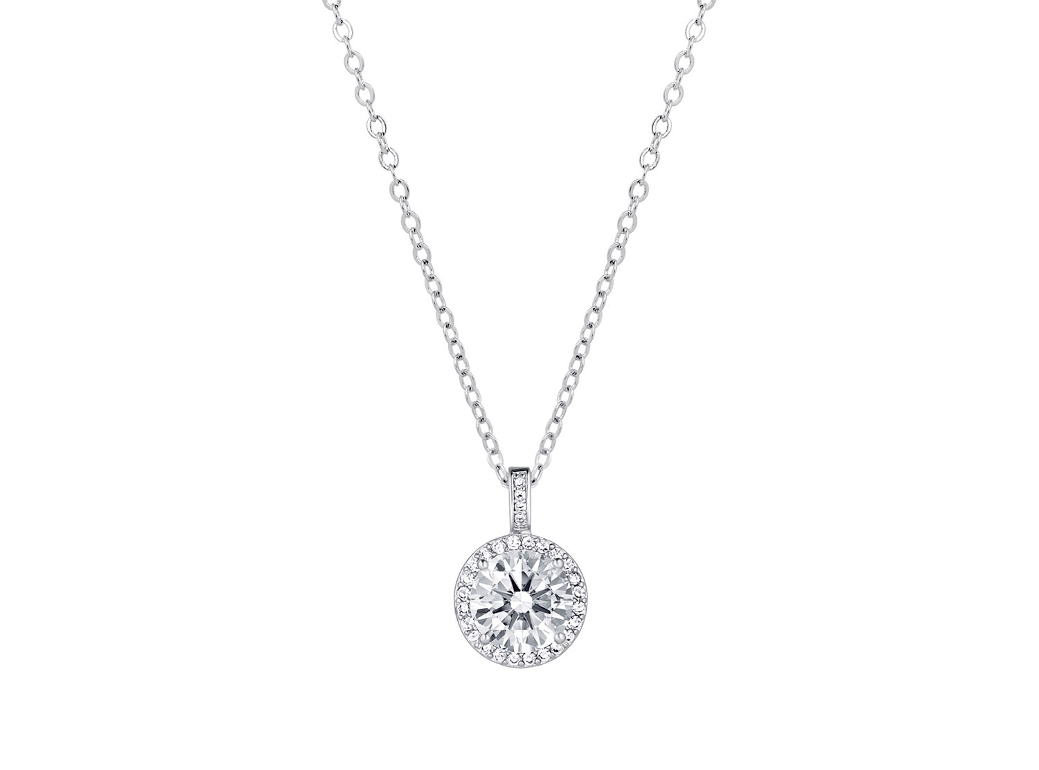 Daily Luxury Necklace VI Silver