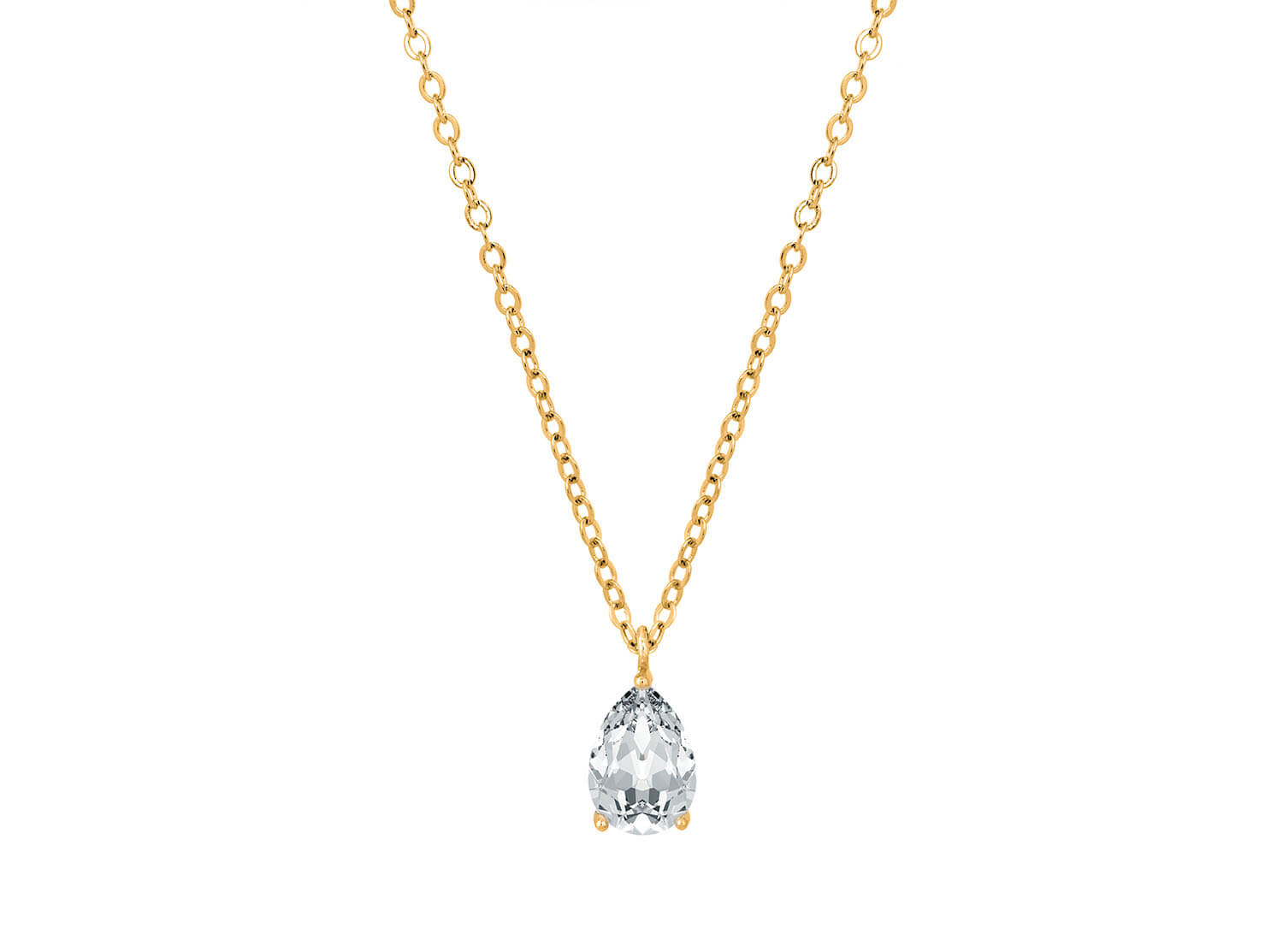 Daily Luxury Necklace V Gold