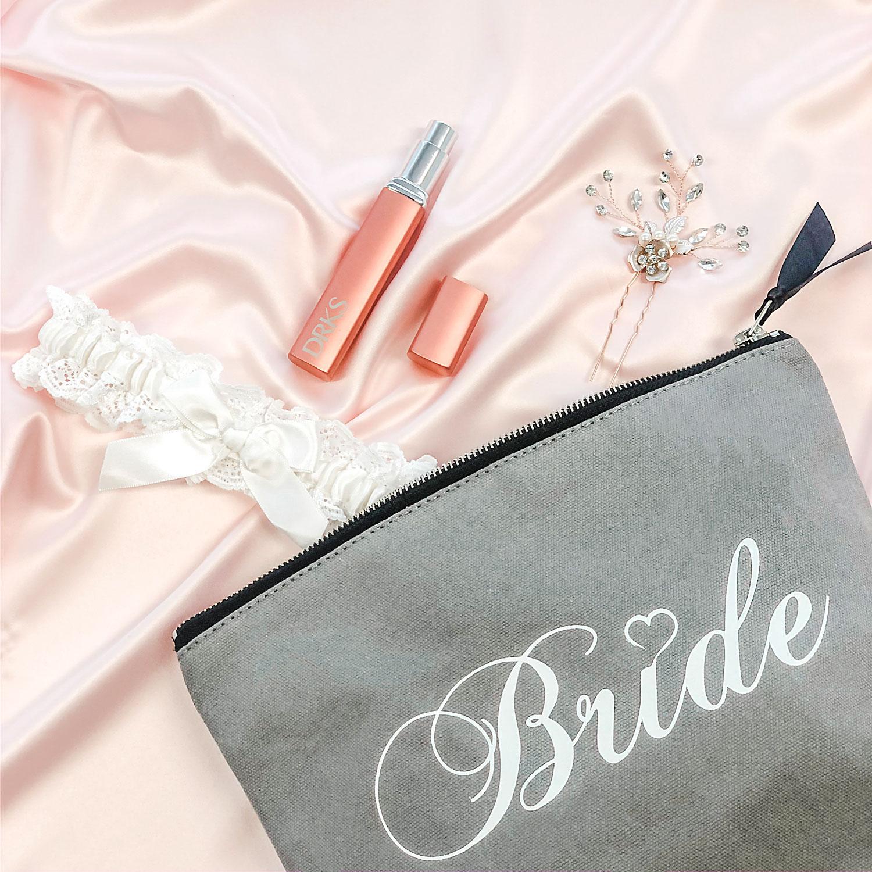 Leuke cadeauset met parfum verstuiver voor de bruid