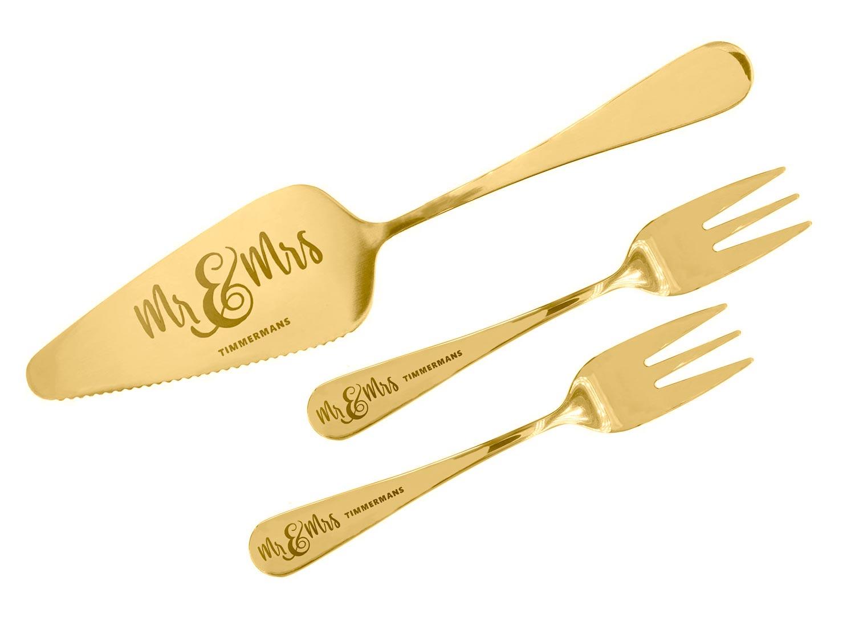 Mr. & Mrs. bruidstaart set