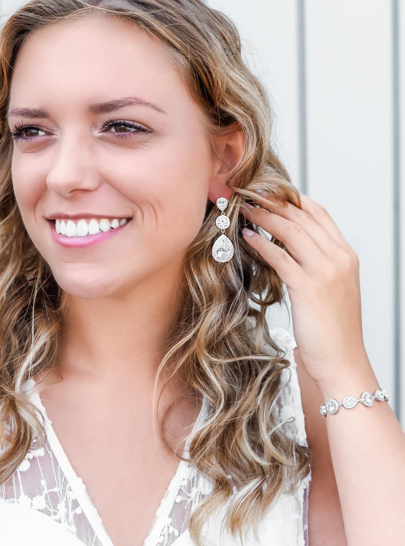 Mooie oorbellen voor de bruid om te kopen