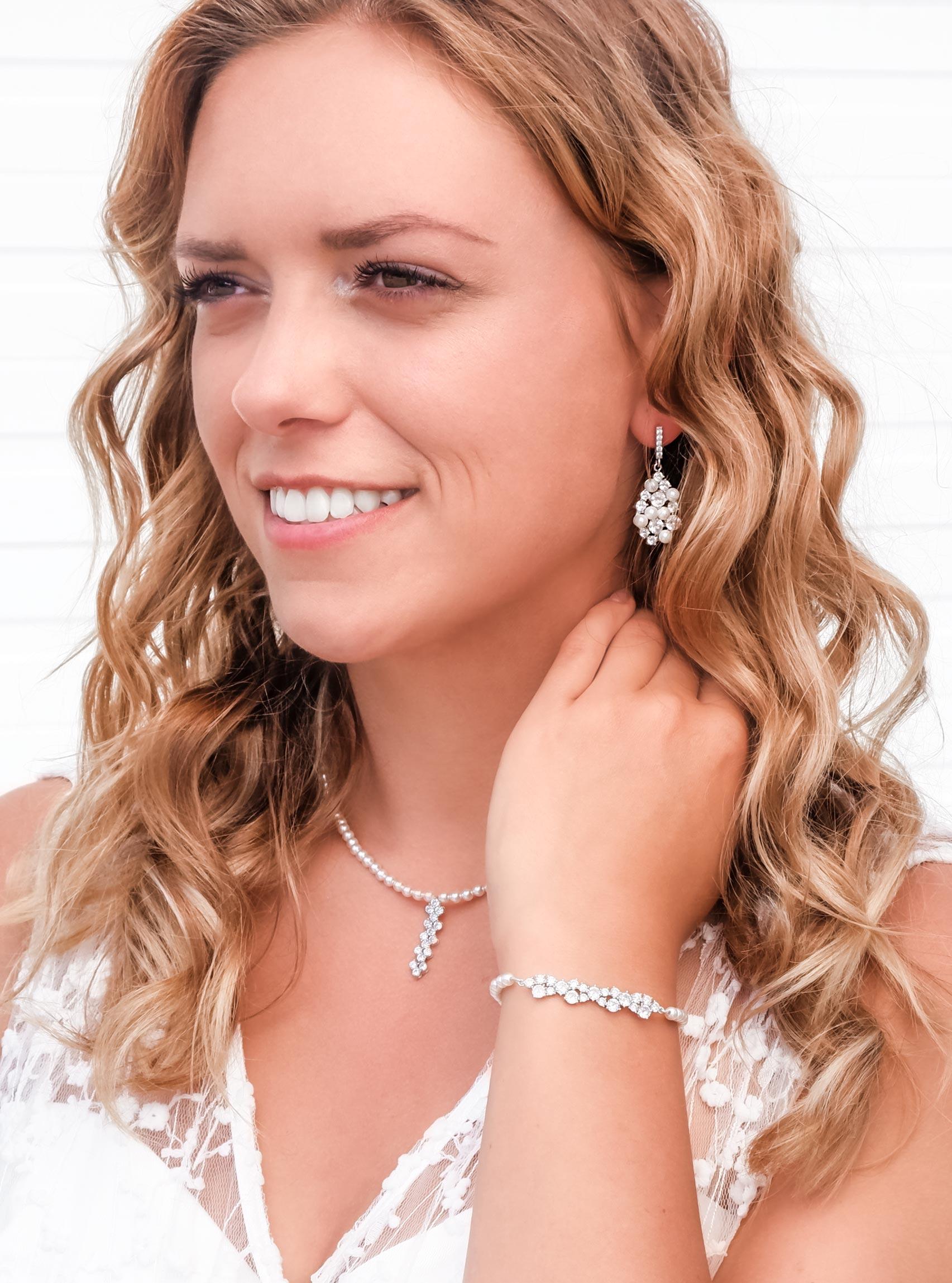 Mooie sieradenset met parels voor een mooie look