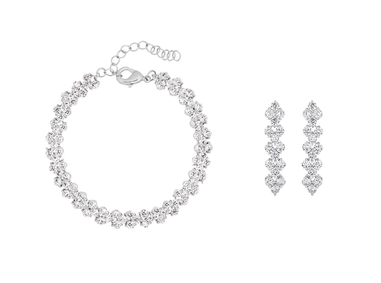 Wonderbaar Shop Bruidssieraden set | Zilveren sparkle sieraden | DRKS JG-24