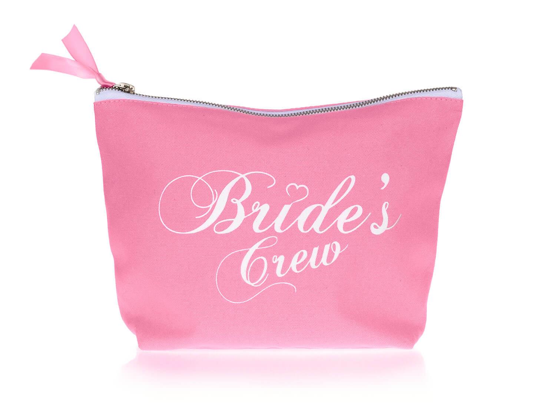 Roze bride's crew toilettas