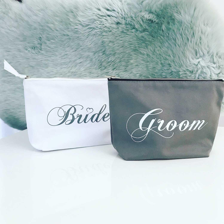 Cadeauset Bruid & Bruidegom Toilettas