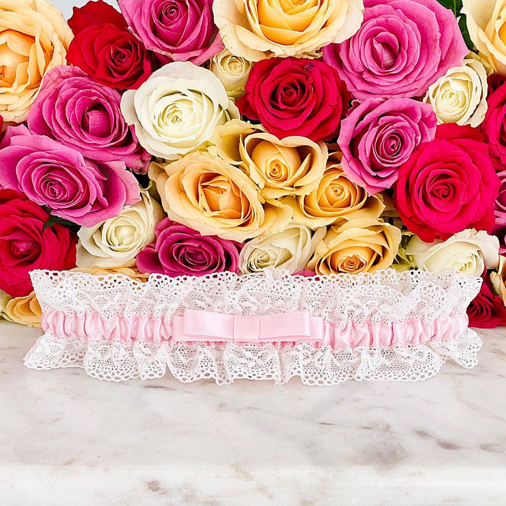 Kousenband voor de bruid om te kopen