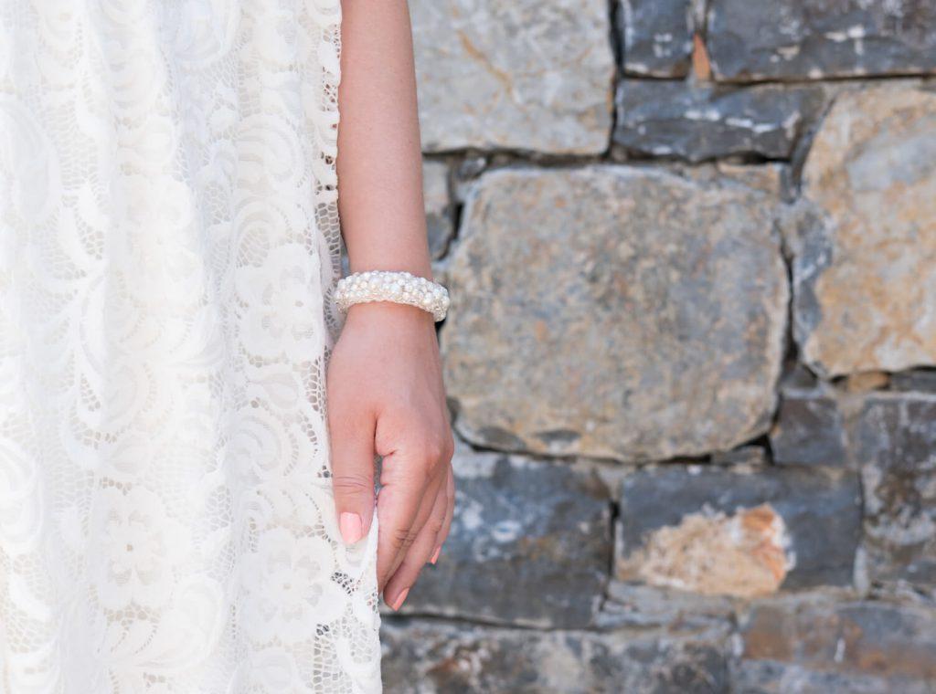 bruidsarmband handgemaakt