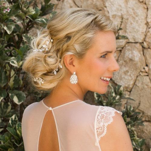 sale oorbellen voor de bruid