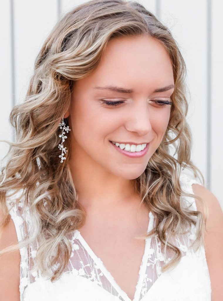 bohemian oorbellen met zoetwaterparels voor de bruid