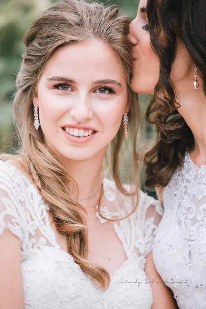 rose gouden sieraden bruid