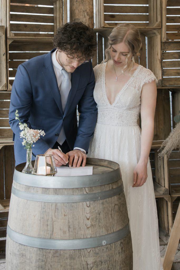 Styled Weddingshoot Evy Vos